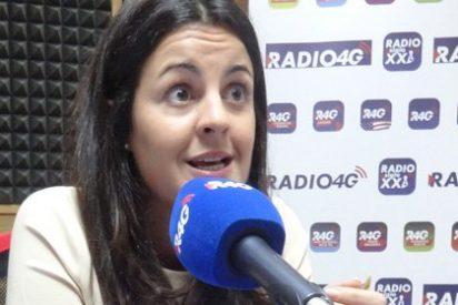 """Ketty Garat: """"Juan Carlos I ha criticado con vehemencia a ciertas personas de derechas"""""""