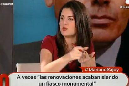 """Ketty Garat: """"En los trackings internos del PP, Esperanza barre a Soraya por 15 puntos"""""""
