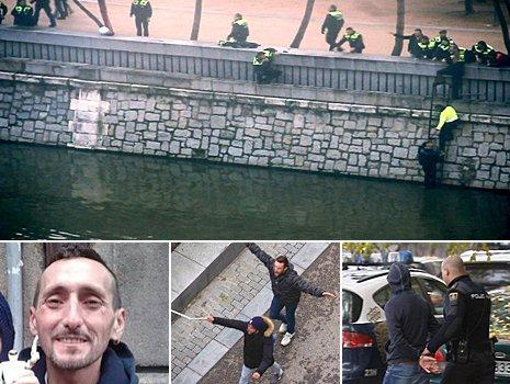 La Policía sí tenía indicios de que la reyerta entre Frente Atlético y Riazor Blues podía producirse