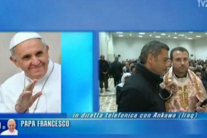 """El Papa, a los cristianos perseguidos de Irak: """"Sois como Jesús"""""""