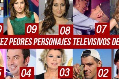 Los 10 peores personajes televisivos del 2014