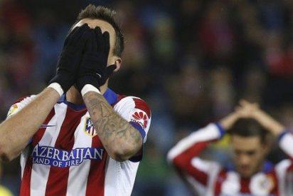 El Atlético de Madrid en versión 'Pupas' naufraga en el Calderon frente a un ordenado Villareal
