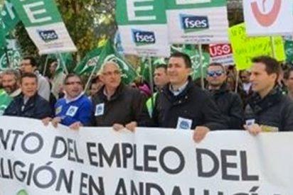5.000 personas salen a la calle en Sevilla por la situación de los docentes de religión