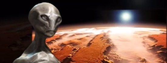 ¿Fue atacado Marte por alienígenas 'perturbados' que no nos pueden ver ni de lejos?