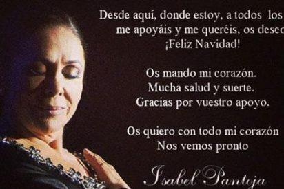 El triste mensaje de Navidad de Isabel Pantoja desde su celda de la cárcel