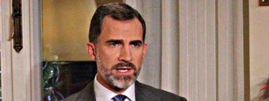 """Felipe VI: """"En España necesitamos una profunda regeneración"""""""
