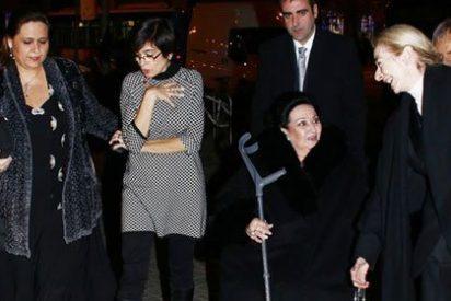 Montserrat Caballé recibe un multitudinario homenaje en el Teatro Real