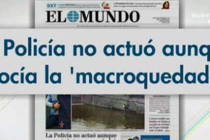 Según informa El Mundo, la policía no actuó a pesar de conocer la macroquedada entre el Frente Atlético y Riazor Blues