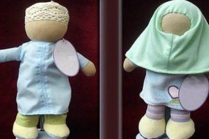 La extraña 'muñeca islámica' con velo y sin rostro ya espera a las niñas
