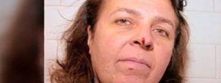 [Vídeo] Un drone navideño le corta la punta de la nariz a una mujer en un restaurante
