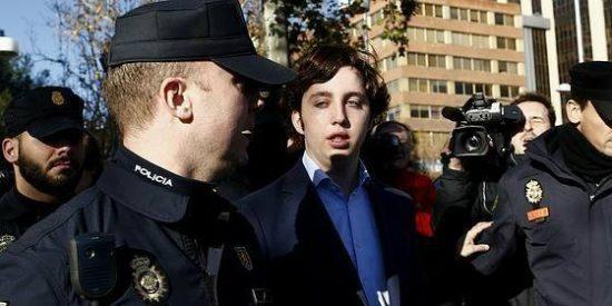 El bocazas del 'pequeño Nicolás' se queda mudo de espanto ante el juez instructor