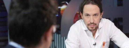 Lo que nadie pudo ver en la entrevista a Pablo Iglesias en TVE... ¡sí que es de censura y vuelta al ruedo sin coleta!