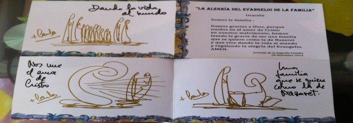 Maratón de bendiciones de Carlos Osoro en La Almudena