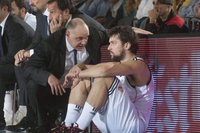 El Real Madrid se deja el liderato de la Liga Endesa en el Palau