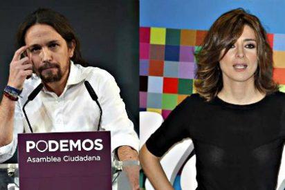 Pablo Iglesias pasa de patinar en RTVE a un lío monumental con Sandra Barneda y Mediaset