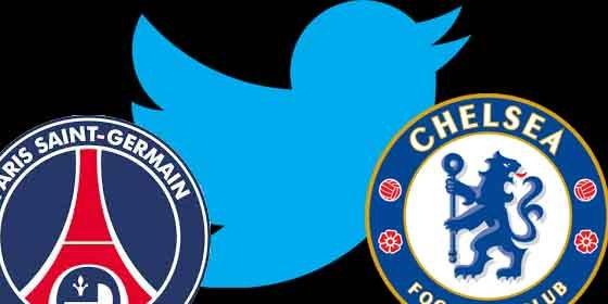 El PSG reta al Chelsea en Twitter