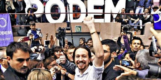 La irrupción en tromba de Podemos dinamita el 'proceso secesionista' en Cataluña