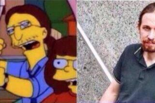 La 'guerra de Simpsons' entre PP y Podemos, o cómo hacer el zoquete entrando al trapo