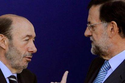 Rajoy confiesa en la Copa de Navidad que le pidió a Rubalcaba que no se fuera