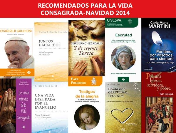 Lecturas recomendadas para la vida religiosa esta Navidad