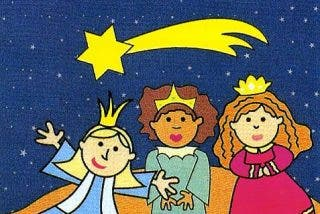 La historia de las tres Reinas Magas