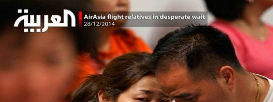 La angustia de los familiares del avión de AirAsia que se ha perdido con 162 pasajeros