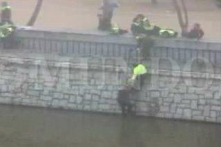Así sacaron el cuerpo de 'Jimmy' del río Manzanares