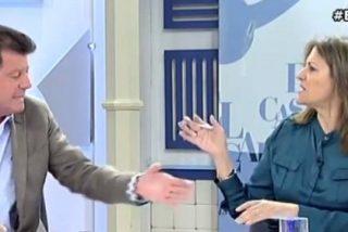 """Alfonso Rojo a Trujillo tras criticar la entrevista a Pablo Iglesias en TVE: """"Estás a ver si te hacen jefa de prensa de Podemos"""""""