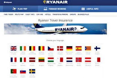 El gran 'éxito' internacional del independentismo: Ryanair adopta la 'estelada' en su web