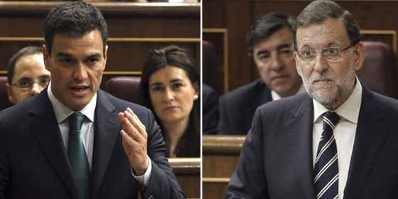 La táctica de Rajoy hace un nuevo boquete en la bancada de Sánchez
