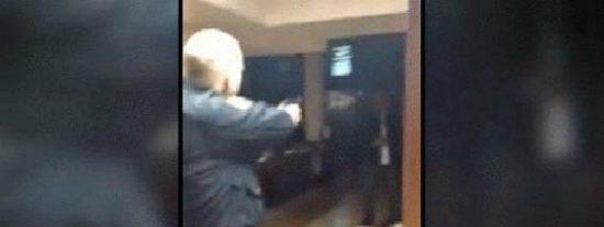 Así matan de un tiro al perturbado que acuchilla a un joven estudiante en una sinagoga