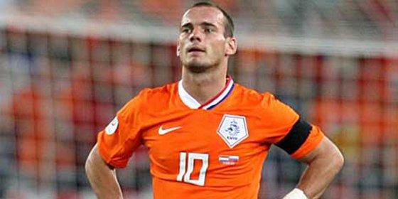 Sneijder denuncia a la policía tras inspeccionar su casa en busca de drogas