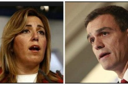 Susana Díaz se prepara para dirigir el PSOE mientras Sánchez se quema