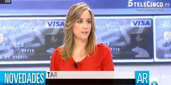 Tania Sánchez se alía con 'La Tuerka' para pedir la independencia del Sáhara en un partido del Rayo