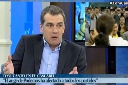 """Toni Cantó le hace un traje a los medios cortesanos con Pablo Iglesias: """"No le hacían entrevistas, le hacían masajes"""""""