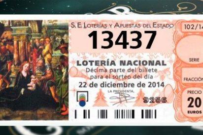 13.437: El Gordo más perezoso de la Lotería de Navidad