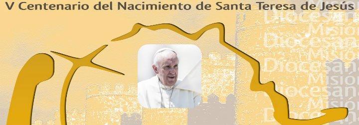 La Iglesia española espera al Papa y celebra el V Centenario de Santa Teresa