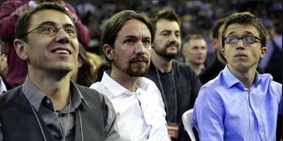 Errejón, Monedero, Iglesias y los de Podemos tocan de oído