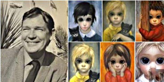 La increíble historia del pintor-pintora de los ojos gigantes