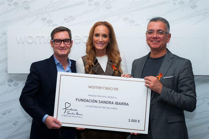 La Fundación de Sandra Ibarra recibe 3.000 euros