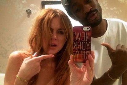 El selfie de Linsay Lohan desnuda en Cannes que enerva al más modoso