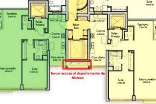 La Policía encuentra un pasadizo secreto con acceso a la vivienda del fiscal Alberto Nisman