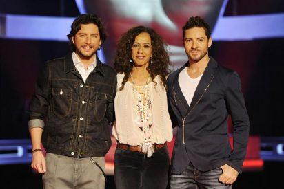 'La Voz Kids' lista y preparada con Bisbal, Rosario Flores y Manuel Carrasco