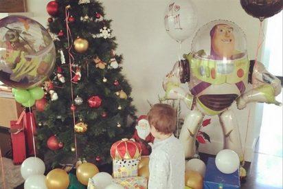 Alba Carrillo celebra los Reyes con su hijo Lucas