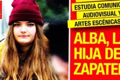 Laura, la primera hija de Zapatero en el Real Madrid y Alba, la segunda, fotógrafa de famosos