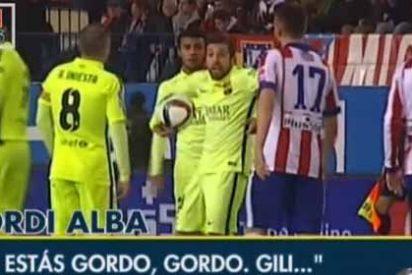 Jordi Alba llamó 'gordo' a Giménez