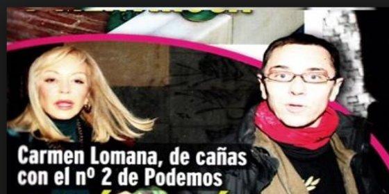 [Vídeo] El rosco que se comió Monedero con Carmen Lomana no se le atraganta a la izquierda exquisita
