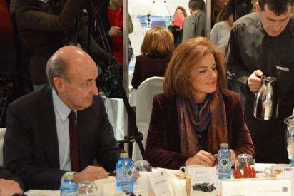 Miquel Roca y Ana Botella juntos en Madrid