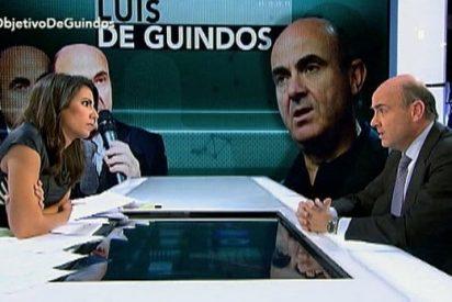 """Luis de Guindos: """"El programa de Podemos sacaría a España fuera del euro"""""""