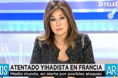 """Ana Rosa Quintana: """"Hay cada bobo esférico… ¡El Willy Toledo este no puede ser más tonto!"""""""